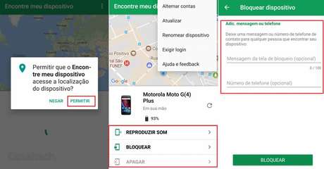 Encontrar meu dispositivo - Android