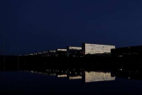 A Esplanda dos Ministérios, em Brasília