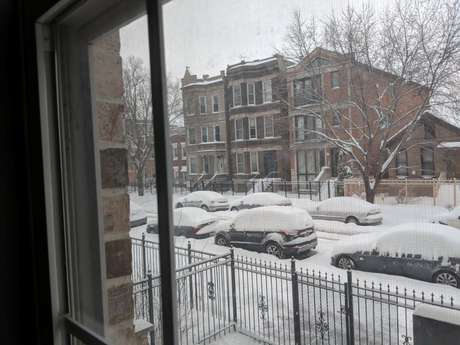 Neve em Chicago