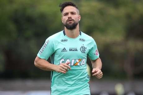 Diego será o camisa 10 (Gilvan de Souza / Flamengo)