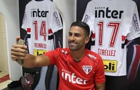 Tréllez saiu contente de sua estreia pelo São Paulo, na última quarta-feira (Rubens Chiri/saopaulofc.net)