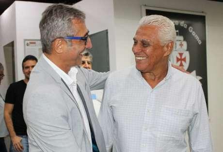 Roberto Dinamite e Alexandre Campello