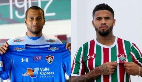 Rodolfo e Léo foram anunciados pelo Fluminense