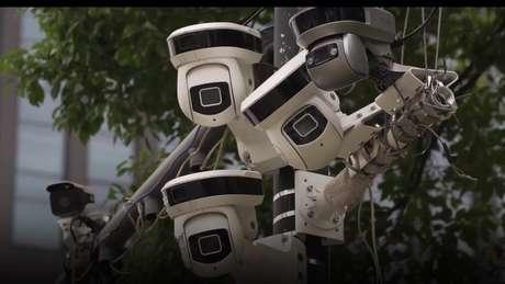 Muitas das câmeras nas ruas chinesas têm tecnologia de reconhecimento facial