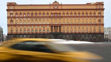 A Lubyanka - edifício que foi sede da KGB durante o terror soviético - abriga hoje a FSB