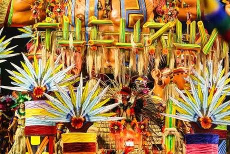 Acadêmicos do Tucuruvi no carnaval de São Paulo