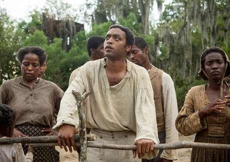 O negro livre Solomon na época em que voltou a ser escravo. Foto: Divulgação
