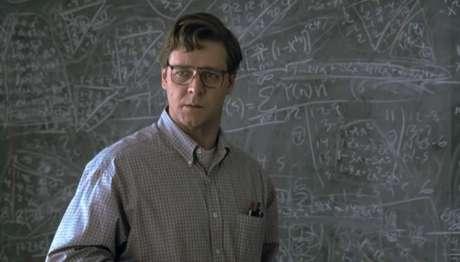 Russell Crowe faz o genial matemático Nash. Foto: Divulgação