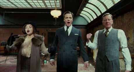Colin Firth (centro) faz o papel do rei George 6º. Foto: Divulgação