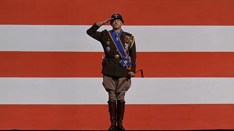 O general Patton após discurso para a tropa. Foto: Divulgação