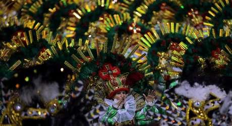 Acadêmicos do Tatuapé foi um dos destaques da primeira noite de desfiles do Carnaval paulista
