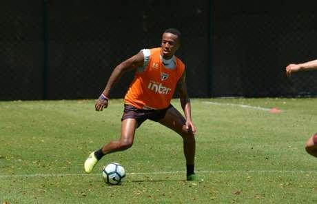 Militão é visto pelo São Paulo como um dos jogadores mais promissores do atual elenco (Érico Leonan/saopaulofc.net)