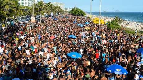 Carnaval de rua do Rio tem atraído multidões nos últimos anos (crédito: Riotur)