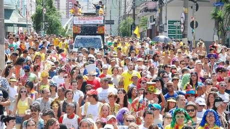 Carnaval de rua em São Paulo vem crescendo com blocos, trios elétricos e palcos fixos (crédito: Monica Silveira - SPturis)