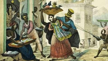 Pintor francês Jean-Baptiste Debret retratou o entrudo nas ruas do Rio no início do século 19