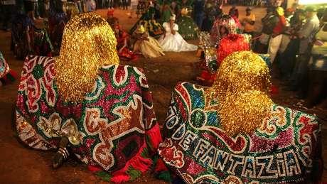 Maracatu é um dos principais gêneros do Carnaval em Olinda e no Recife (crédito: Costa Neto - Secult-PE)