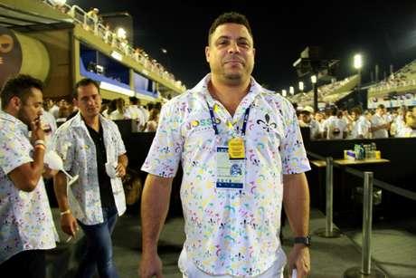 Ronaldo Fenômeno foi um dos famosos presentes na festa