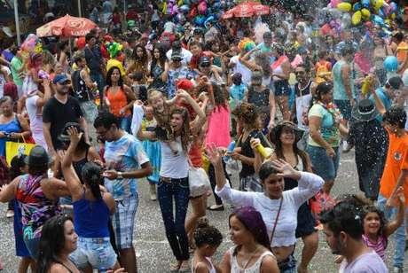 O bloco Baratinha anima a criançada neste sábado, no Parque da Cidade