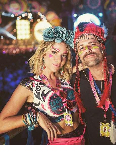 Giovanna Ewbank e Bruno Gagliasso curtem Carnaval juntinhos