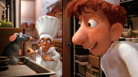 Um rato na cozinha pode ser a salvação de um restaurante em Ratatouille. Foto: Divulgação