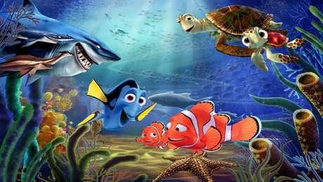 O peixinho Nemo enfrenta os perigos do oceano. Foto: Divulgação