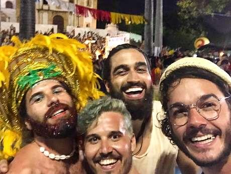 Recife e Rio de Janeiro foram os principais pontos de folia de Túlio Gadêlha