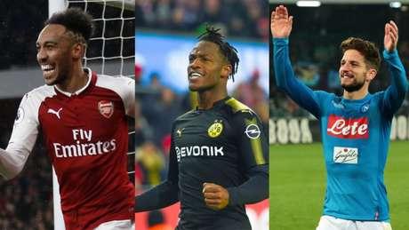 Arsenal, Borussia Dortmund e Napoli são destaques na segunda fase da Liga Europa (Foto: AFP)