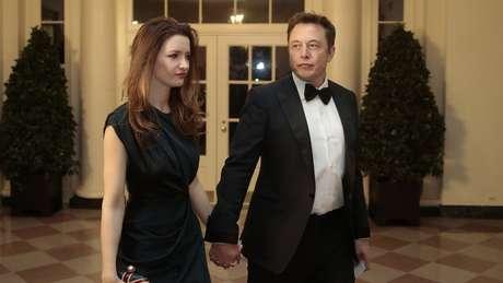 Musk namorou atriz Talulah Riley