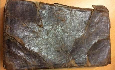 A edição que vai a leilão foi publicada em 1720 e acredita-se que tenha sido banida até 1960 | Foto: Hanson's Auction House/Divulgação