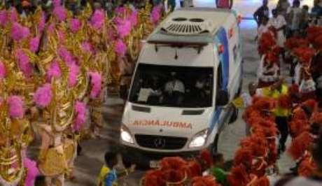 Foram feitos 124 atendimentos a mais neste carnaval na Marquês de Sapucaí do que em 2017