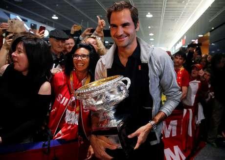 Tenista suíço Roger Federer