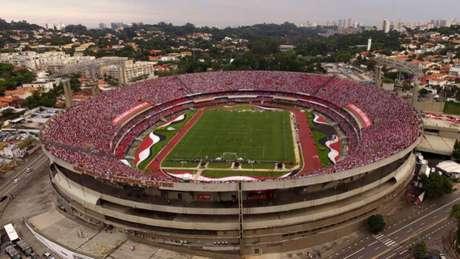 Além de ter a vantagem de jogar em casa, o São Paulo terá toda a torcida a seu favor, já que os santistas não poderão acessar o estádio (Luis Moura / WPP)