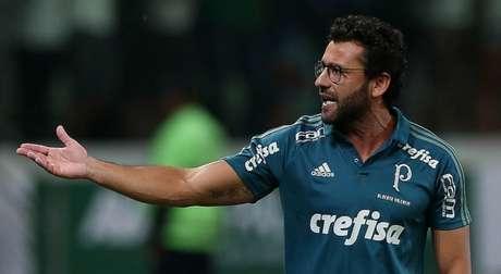 Valentim trabalhou ano passado no Palmeiras (Foto: Cesar Greco)