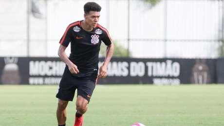 Marquinhos Gabriel ganhou a vaga no Corinthians (Foto: Ricardo Moreira/Fotoarena/Lancepress!)