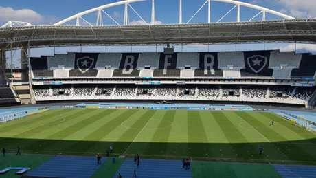 Estádio Nilton Santos (Foto: David Nascimento)