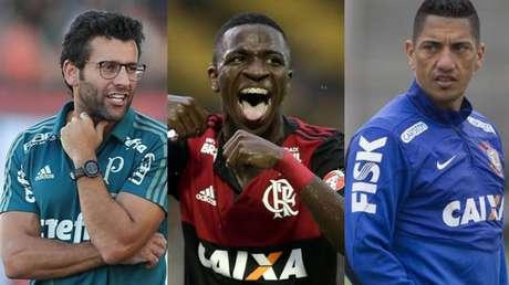 Valentim, Vinicius Júnior e Ralf agitaram o noticiário no meio da folia...