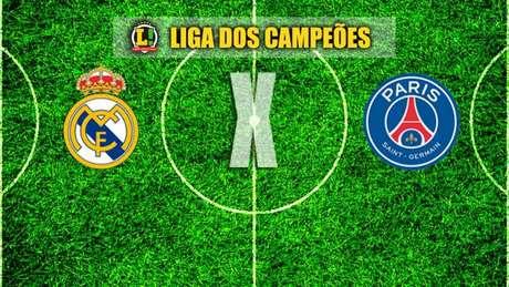 LIGA DOS CAMPEÕES: Real Madrid x PSG