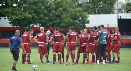 Atlético-GO se prepara para enfrentar Aparecidense (Foto: Divulgação Atlético-GO)