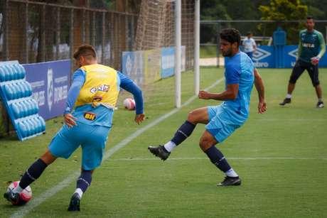 Cruzeiro se reapresenta na Toca da Raposa II (Foto: Cruzeiro/Divulgação)