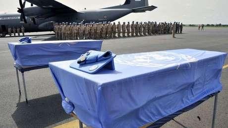Um total de 115 soldados da ONU morreram em quatro anos atacados por grupos jihadistas