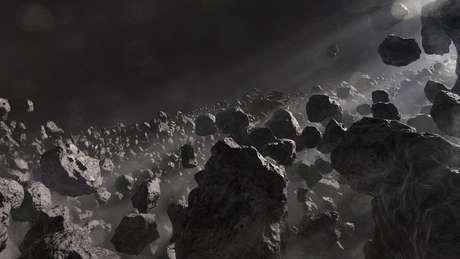 Asteroides se originaram há milhões de anos, com o nosso Sistema Solar