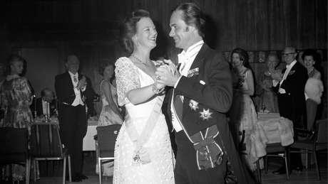 Henrique e a então princesa herdeira Margarida se casaram em 1967