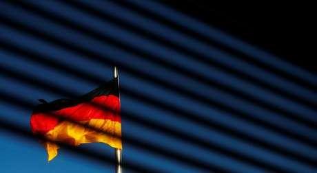 Bandeira da Alemanha é vista em Berlim 07/11/2017 REUTERS/Hannibal Hanschke