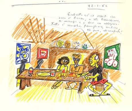 'Sonhos de Fellini com Picasso' são tema de mostra na Espanha.