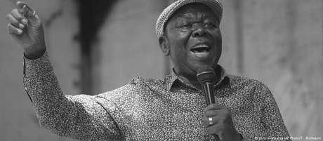 O líder opositor Morgan Tsvangirai, em foto de 2017.