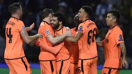Firmino, Mané e Salah fizeram os gols do jogo (Foto: AFP)