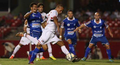 Último confronto: 9/4/2014  - São Paulo 3x0 CSA-AL - Copa do Brasil