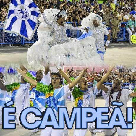 Com 269,6 pontos, a Beija-Flor faturou o título do Carnaval do Rio de Janeiro