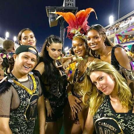 'Excursão'; da Victoria's Secret se jogou na Sapucaí