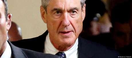 O procurador especial dos EUA, Robert Mueller, que investiga a interferência russa.
